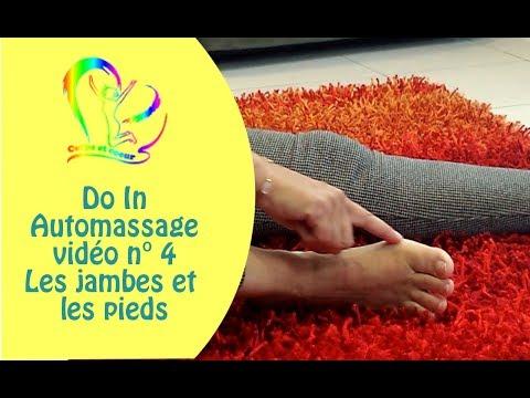 Do in vidéo 4 les jambes et les pieds