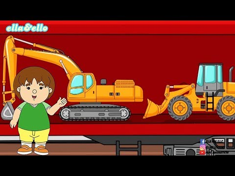 Ella Ello : Open and Find - Gerbong Kereta | Puri Animation Channel