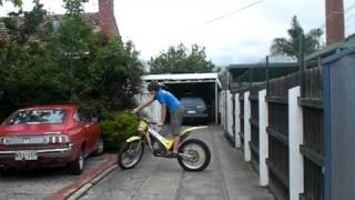 6. Gas Gas TXT200 Trials Bike