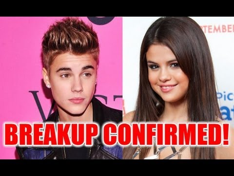 JUSTIN BIEBER AND SELENA GOMEZ BREAK UP CONFIRMED!!!