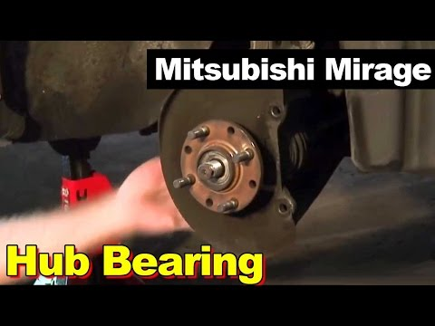 1998 Mitsubishi Mirage Hub Bearing Repair