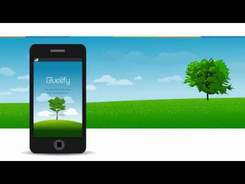 Video of Givelify Mobile Giving App