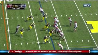 Ryan Lindley vs Michigan 2011