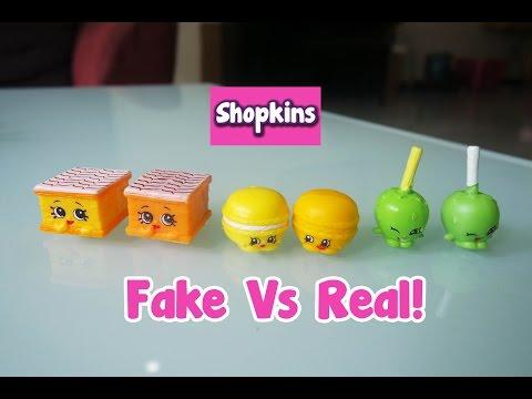 Fake Shopkins Vs Real Shopkins! | Vlog Ep.6