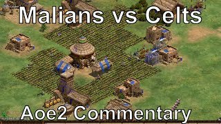 "A very epic game of Age of Empires II where I give my commentary on the Malians and Celts civilizations. In this Age of Empires 2 online multiplayer gameplay, Resonance22 spectates a 1v1 viewer game where he discusses how the different tech trees and bonuses of the Celts and Malians dictate what strategies they go for and how it shapes the civ match-up. Understanding how various opening strategies and units counter each other is essential to winning this match-up. Civilizations: Malians, CeltsMap: Salt MarshStrategy: Knight Rush, Fast Castle Age, Malians ChampionsGame Type: 1v1, Random Map, Online Multiplayer GameWatch me stream these matches live at: http://www.twitch.tv/resonance22Follow me on Facebook: https://www.facebook.com/Resonance22Follow me on Twitter: https://twitter.com/Resonance22Expert Rise of the Rajas & African Kingdoms Gameplay:https://www.youtube.com/playlist?list=PLOZFzqxtvtxexvGoicKtHauNgPWC_o1DQNew Rise of the Rajas expansion videos:https://www.youtube.com/playlist?list=PLOZFzqxtvtxeqZcAKU1HZqafuVctkPLGnDate Recorded: May 27, 2017My Steam Workshop Mods:Terrain Texture Pack: http://steamcommunity.com/sharedfiles/filedetails/?id=140025354Mike's Farm Textures: http://steamcommunity.com/sharedfiles/filedetails/?id=478802899Pussywood for HD: http://steamcommunity.com/sharedfiles/filedetails/?id=549369672Tetsuo's Cliff Textures: http://steamcommunity.com/sharedfiles/filedetails/?id=144402235My Custom AI: http://steamcommunity.com/sharedfiles/filedetails/?id=473358292Legal: All of the music used in this video is from the official soundtrack to Age of Empires II: HD Edition, and comes packaged with the game. The game is available to be purchased at the following link: http://store.steampowered.com/app/221380/Age of Empires II © Microsoft Corporation. This video was created under Microsoft's ""Game Content Usage Rules"" using assets from Age of Empires II, and it is not endorsed by or affiliated with Microsoft."