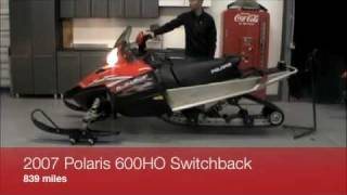 7. 2007 Polaris Switchback for sale