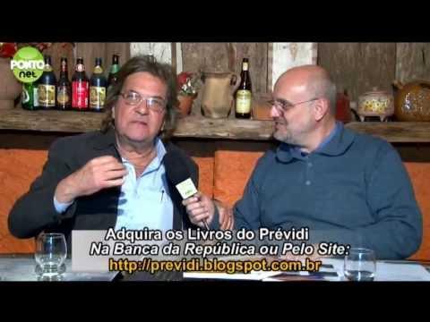 Ricardo Orlandini conversa com o jornalista e escritor José Luiz Prévidi.