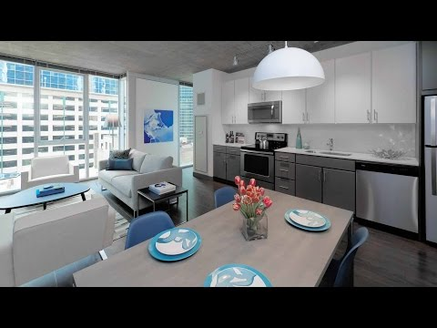 A Loop convertible model at the bold new Linea apartments