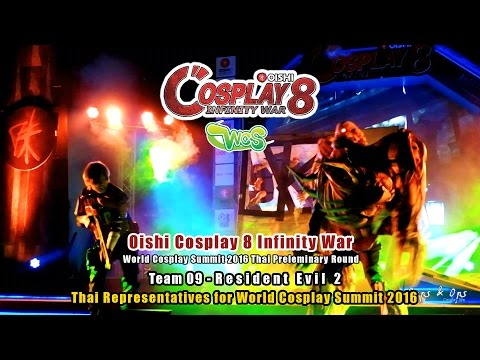Oishi Cosplay 8 Infinity War – WCS Team 09 –  Resident Evil 2