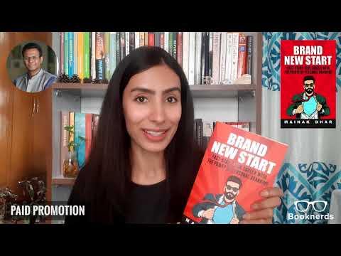 Booknerds Review | Brand New Start | Mainak Dhar