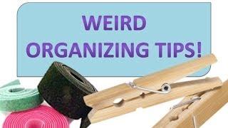 Organizing Tips that WORK!