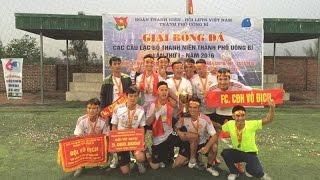 Bế mạc Giải bóng đá các CLB thanh niên TP Uông Bí lần thứ nhất năm 2016.