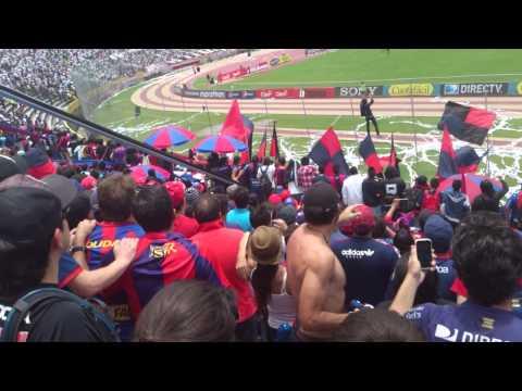 Gol de Nieto. S.D. Quito 2 - 0 Ellas - Mafia Azul Grana - Deportivo Quito