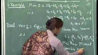 Mod-01 Lec-17 Problem In Lecture 16, Starting Dual Feasible Solution, Shortest Path Problem.