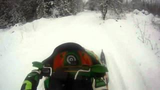 7. Arctic Cat F6 Trail Riding.