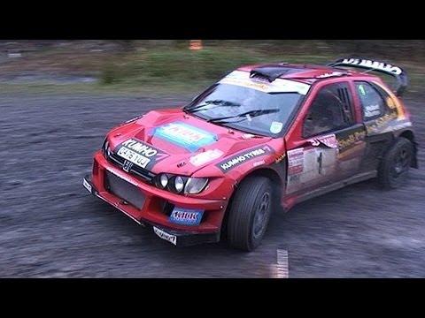 Andrew Burton/Robin Kellard Peugeot Cosworth 2011 Season