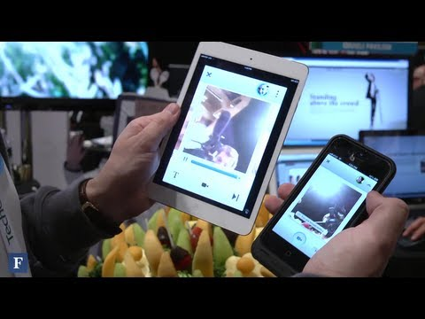 Live Stream Video Messages With Glide: TechCrunch Disrupt NY 2013