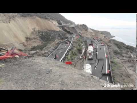 Mexico motorway collapses after series of earthquakes!