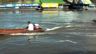 Nakhon Pathom Thailand  city photos gallery : Up the Nakhon Chaisi River, Nakhon Pathom; Thailand - Preview