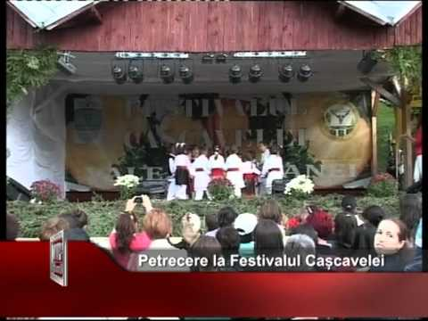 Petrecere la Festivalul Cașcavelei