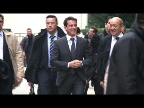 Visite de Manuel Valls à Rennes