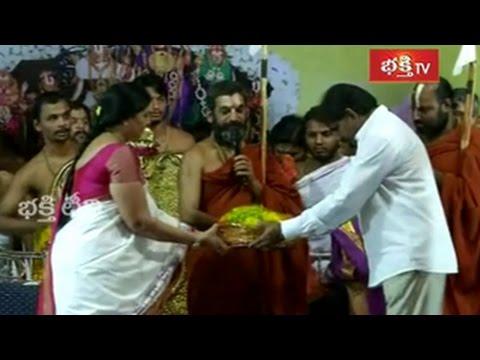 Sri Tummala Narendra Chowdary is Bestowed Sri Tridandi Chinna Jeeyar