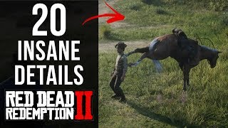 20 INSANE Details in Red Dead Redemption 2 (Part 1)
