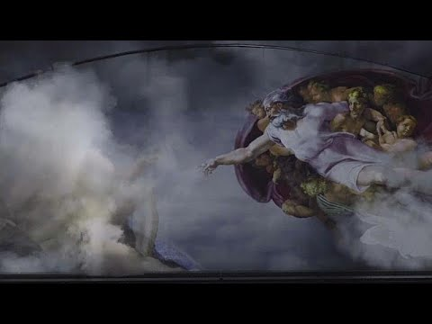 Michelangelo-Show in Rom - mit Tanz, Musik und jeder  ...