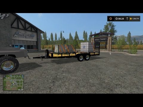 Dual Axle Utility Trailer v1
