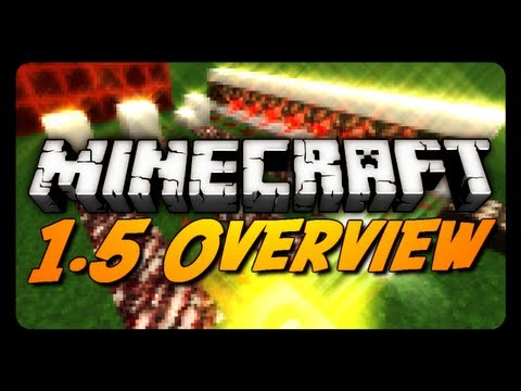 Minecraft: 1.5 Update! (The Redstone Update Overview)