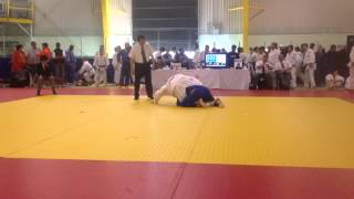 Tora Invitational Judo Tournament 2013 - Kyle Fegan vs. Bailey Hu