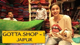 Jaipur India  city photo : Gotta Shop || Part 1 || Jaipur