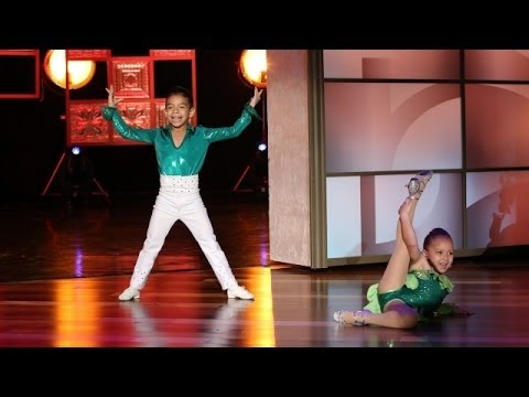 dancers - You won't believe the talent this kid salsa duo demonstrated!
