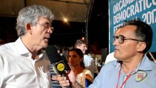 Em Cajazeiras, RC abre ciclo 2017 do ODE, entrega equipamentos, e diz que espera em Sousa realizar o maior debate; Assista