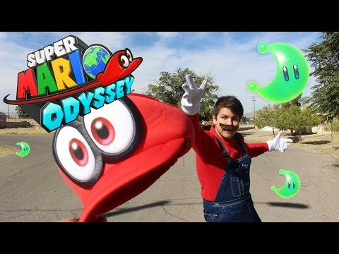 Mario and Cappy go to the Mall (Super Mario Odyssey Parody)- AwesomeErick