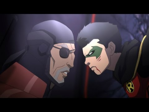 Deathstroke's Talk With Damian (Teen Titans: The Judas Contract Clip)