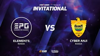 Elements Pro Gaming vs Cyber Anji, Game 3, SL i-League Invitational S2, EU Qualifier