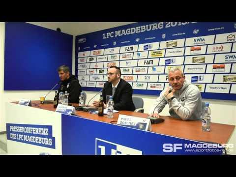 Video: Pressekonferenz - 1. FC Magdeburg gegen FC Erzgebirge Aue 0:3 (0:3)
