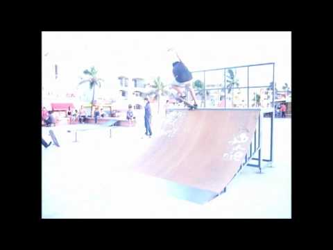 Rima Mini ramp secion skatepark (playa norte) mazatlan