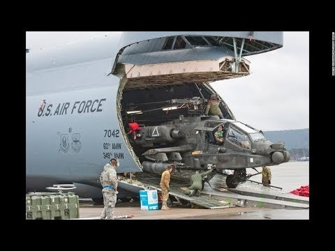 The Lockheed C-5 Galaxy is a large...