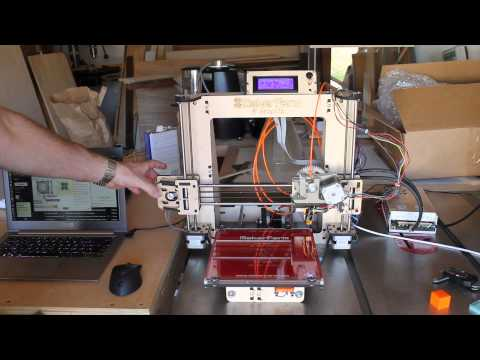 Makerfarm Prusa i3 3D printer kit review – Part 2
