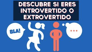 Eres una persona introvertida o extrovertida? Descubre si eres introvertido o extrovertido con este divertido test! ↠↠ ¡No te olvides de suscribirte para no ...