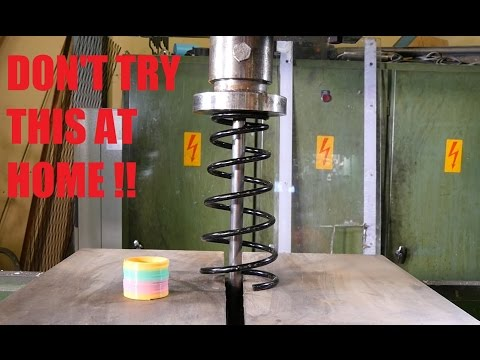 Car Spring Vs Hydraulic Press