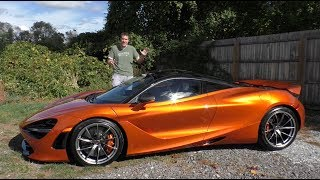 Video Here's Why the McLaren 720S Is Worth $300,000 MP3, 3GP, MP4, WEBM, AVI, FLV November 2017