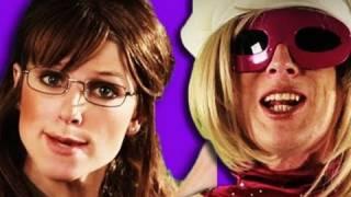 Sarah Palin VS Lady Gaga - Epic Rap Battles of History 4