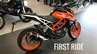 5. 2017 KTM Duke 390 First Ride