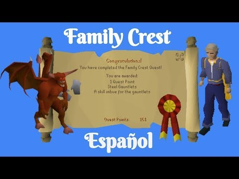 [OSRS] Family Crest Quest (Español)