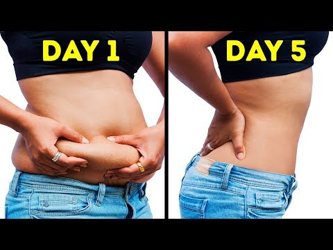 How I Lost Belly Fat In 7 Days: No Diet No Exercise!