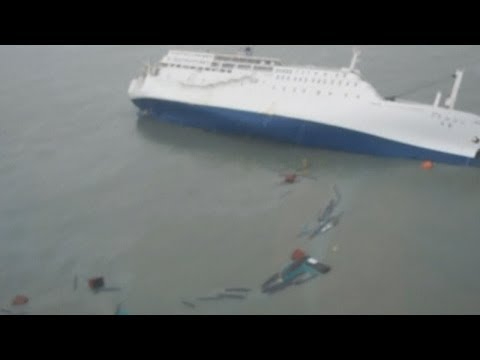footage - Subscribe to ITN News: http://bit.ly/1bmWO8h Amateur footage has emerged of the passengers inside the South Korean ferry being told to stay put moments befor...