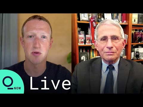 LIVE: Zuckerberg and Fauci Discuss Covid Prevention During the Holidays